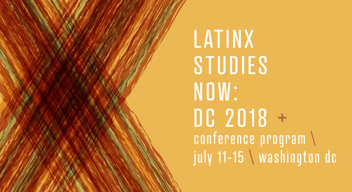 (July 13, 2018) Presenting on Latinx Twitter at Latina/o Studies Association Conference
