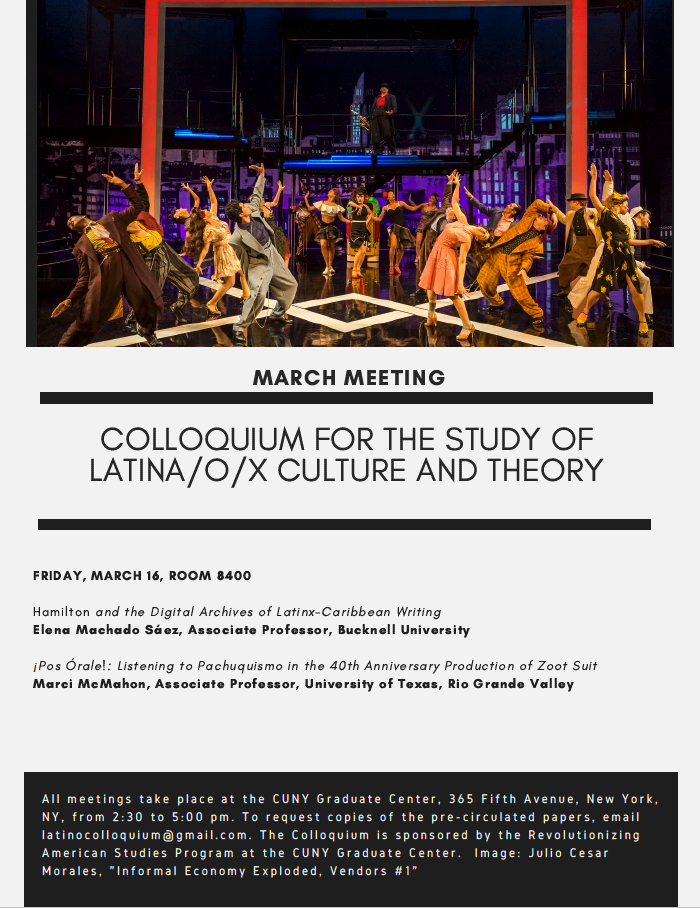 (Mar. 16, 2018) Presenting on Twitter at CUNY